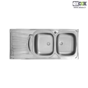 سینک ظرفشویی توکار پلی استیل - مدل پلاس زیرآب