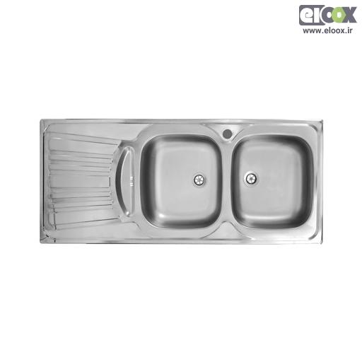 سینک ظرفشویی توکار پلی استیل – مدل پلاس زیرآب
