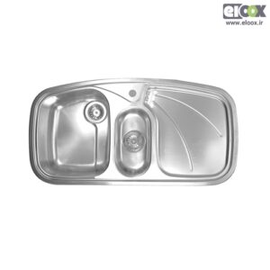 سینک ظرفشویی توکار پلی استیل - مدل پروانه 1