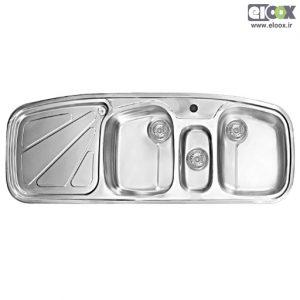 سینک ظرفشویی توکار پلی استیل - مدل پروانه 3 اس