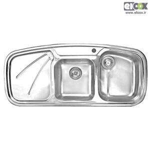 سینک ظرفشویی توکار پلی استیل - مدل پروانه 2