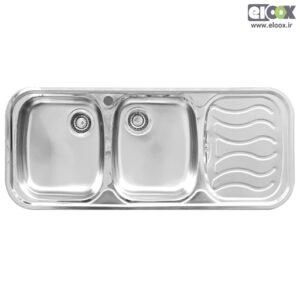 سینک ظرفشویی توکار پلی استیل - مدل پاشا
