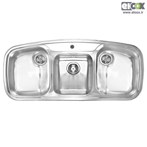 سینک ظرفشویی توکار پلی استیل – مدل پروانه ۳